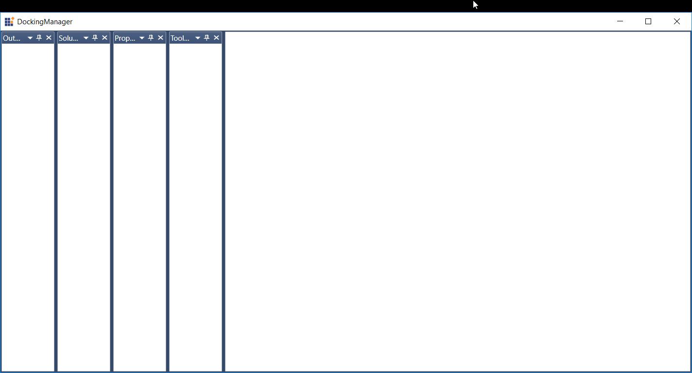 Create Visual Studio-like Docking Windows in WPF | Syncfusion Blogs
