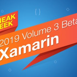 Sneak peek Syncfusion Xamarin 2019 vol 3